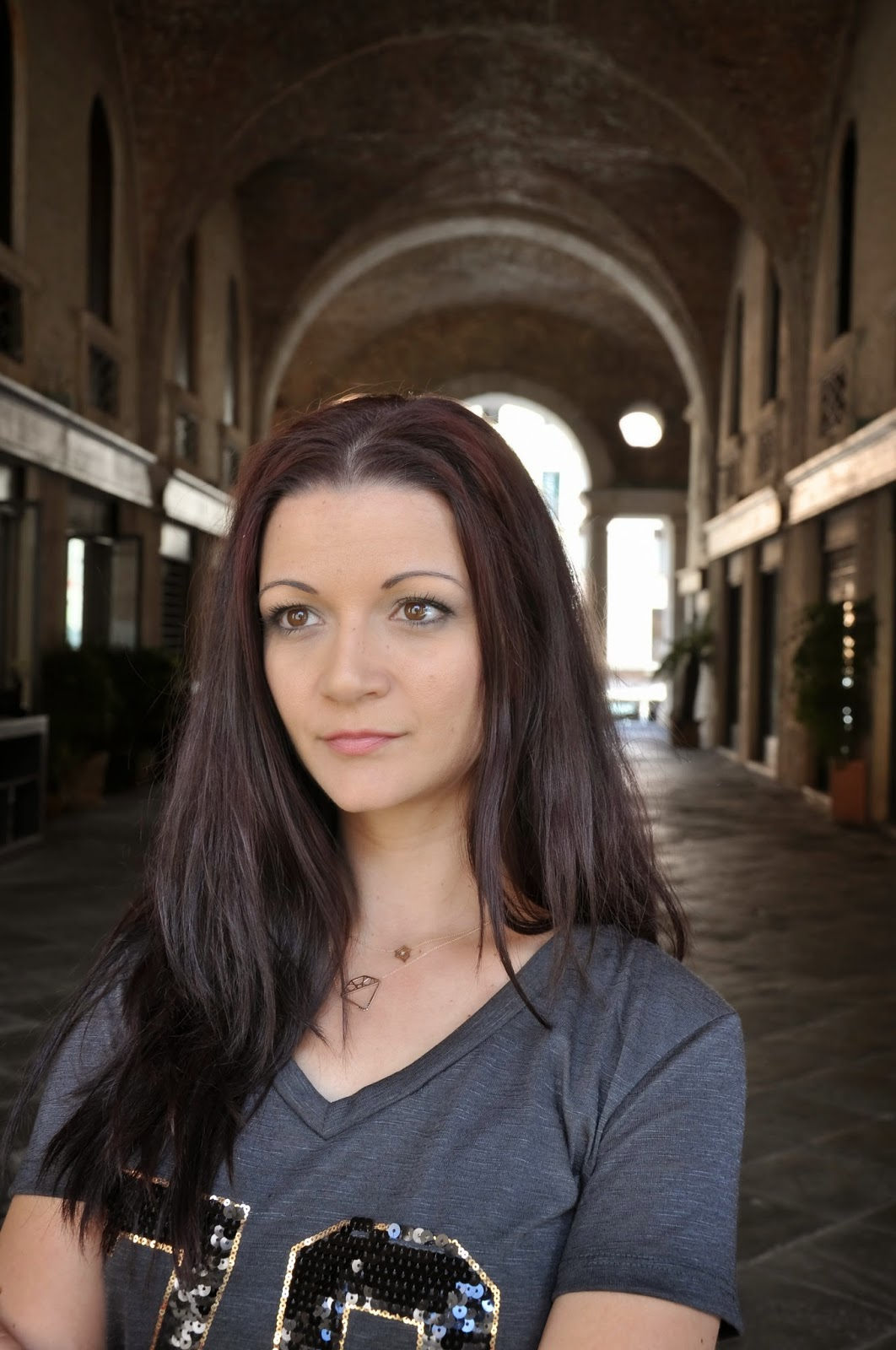 Antoaneta Ivanova of Antoanetta Fine Jewellery at Palladio's Basilica in Vicenza, Italy