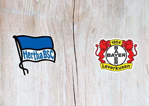 Hertha BSC vs Bayer Leverkusen -Highlights 20 June 2020