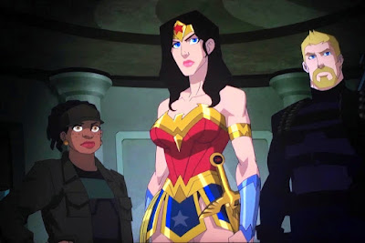 Wonder Woman: Bloodlines - Diana, Steve, and Etta