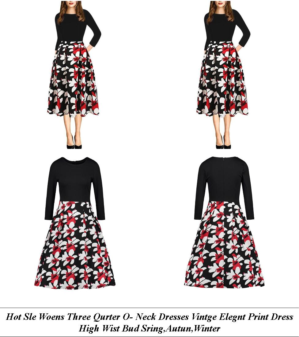 Full Length Dresses Cheap - What Is Vintage Clothing Style - Pretty Summer Dresses With Short Sleeves