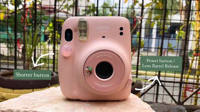 Patty Villegas - The Lifestyle Wanderer - Fujifilm - PH - Instax Mini 11 - Review - buttons