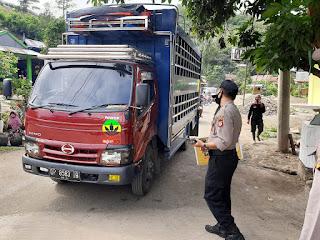 Personel Polsek Malua Bersama Pihak Terkait Laksanakan Operasi Yustisi