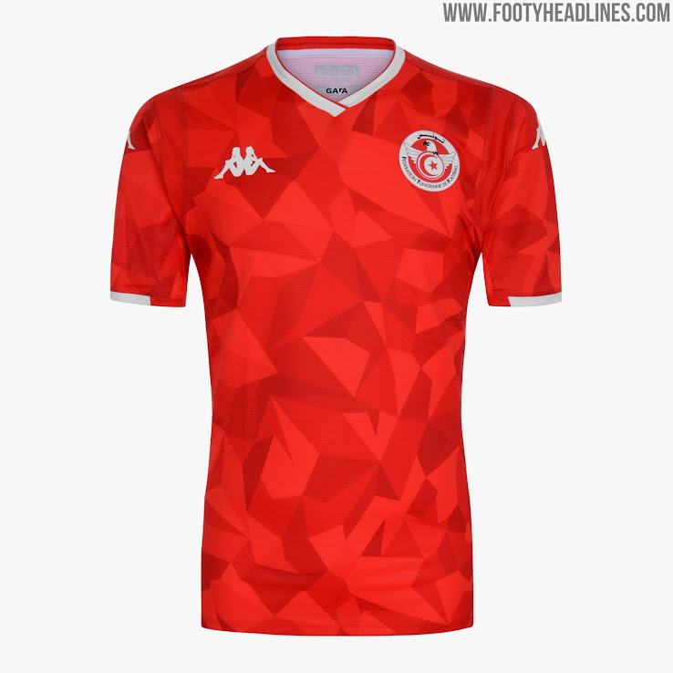 ae6bba4a9 Kappa Tunisia 2019 AFCON Kit Revealed - Footy Headlines
