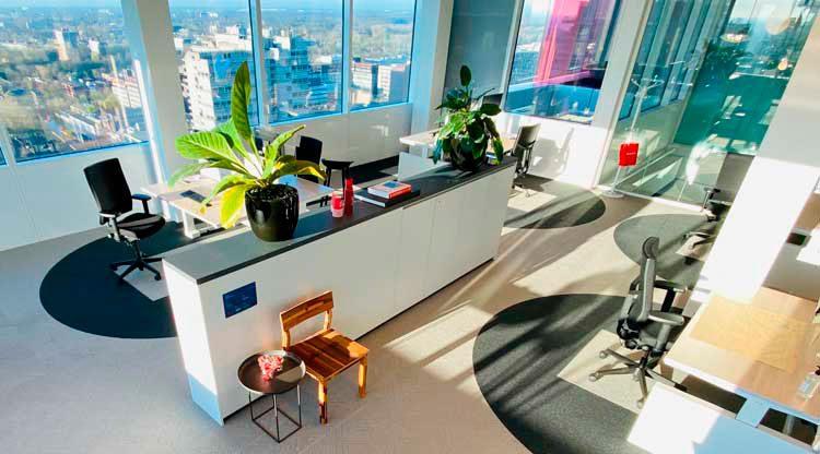 6 Feet o los dos metros, cómo serán las primeras oficinas pos Covid-19