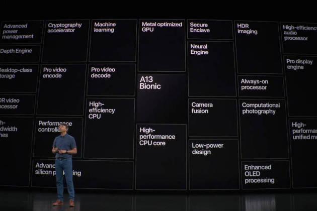 معالج آبل Apple A13 Bionic