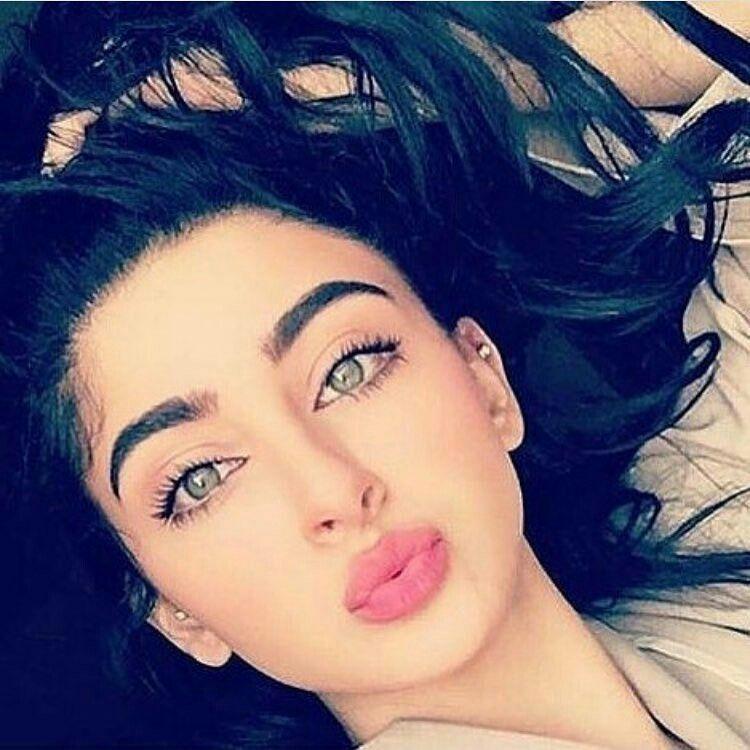 Arab Girls Beautiful Faces 01 Ramziyat