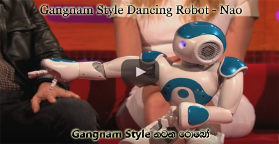 Gangnam Style Dancing Robot - Nao - French Technology