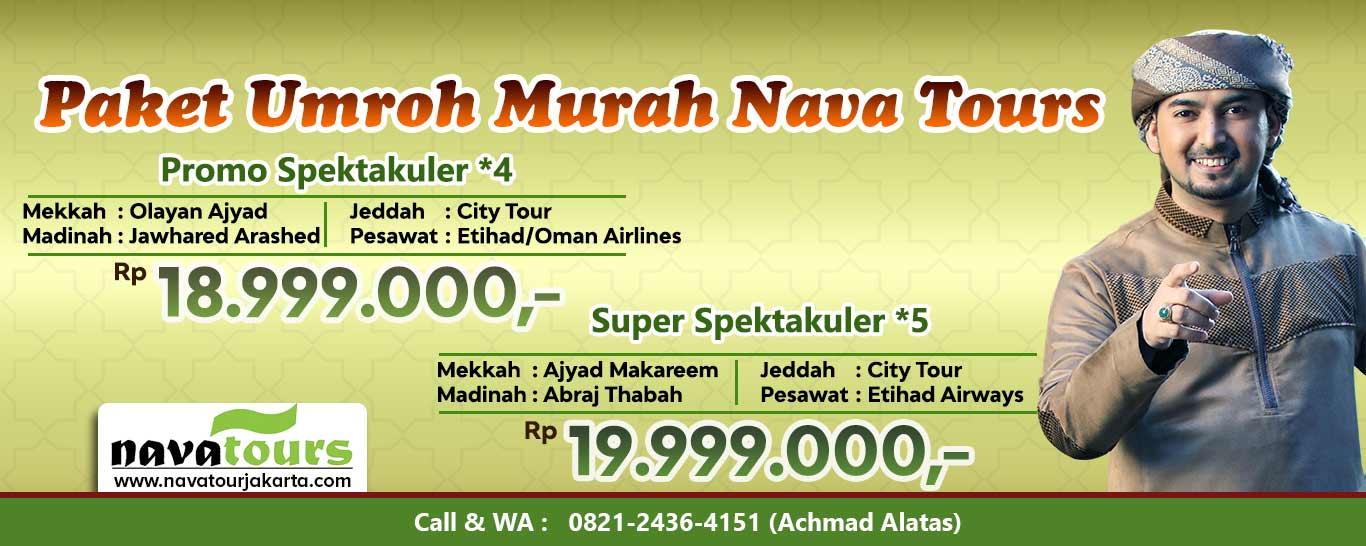 umroh nava tour Jakarta resmi milik ust ahmad alhabsyi
