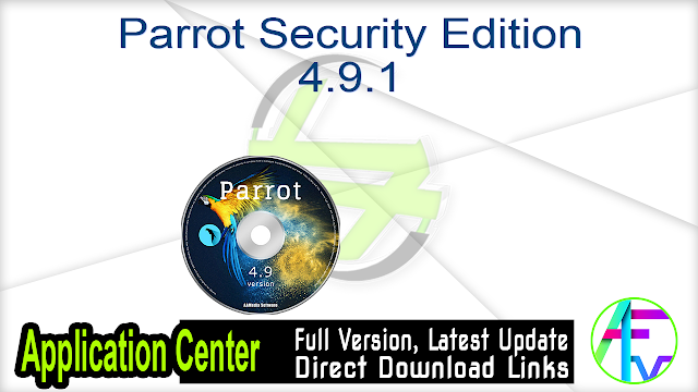 Parrot Security Edition 4.9.1