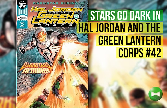 Stars Go Dark in Hal Jordan and the Green Lantern Corps #42