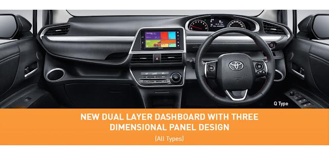 Toyota Sienta Interior Mewah