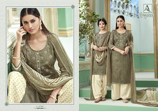 Alok Suits Nazpreet Jam Cotton Salwar Kameez Collection
