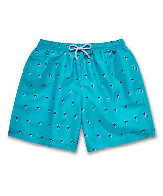L'Etale 'Souvenirs' Swim Shorts