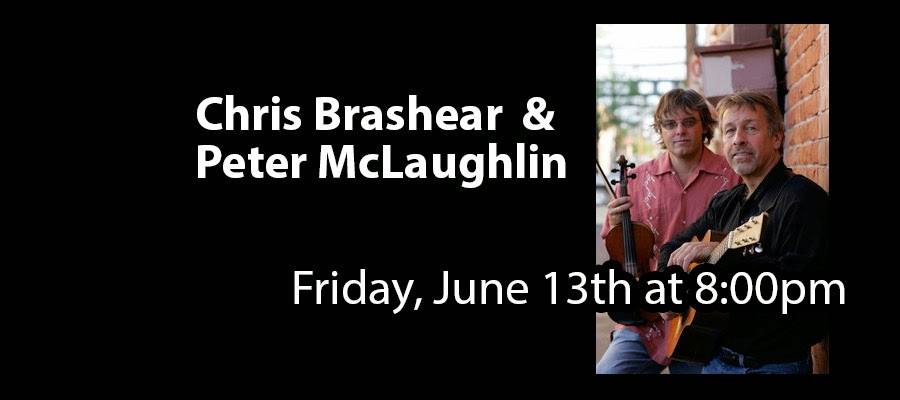 http://www.artscenterlive.org/events/chris-brashear-peter-mclaughlin/