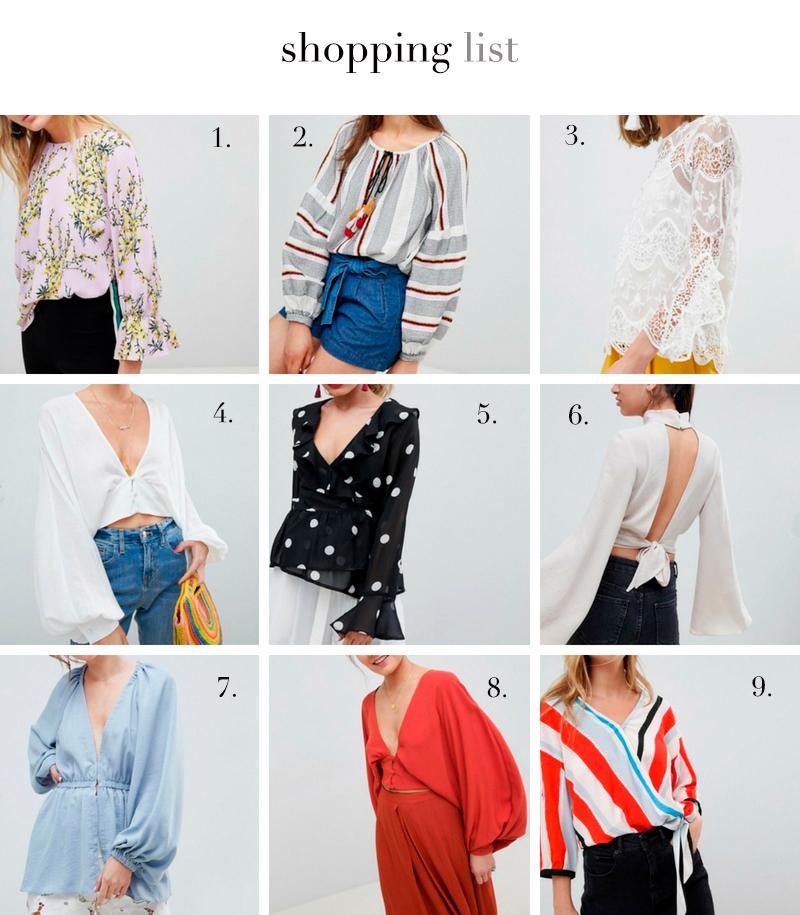 a trendy life shopping blusas tendencia top fashion verano asos - DECORACIÓN DE MESA PARA SORPRENDER