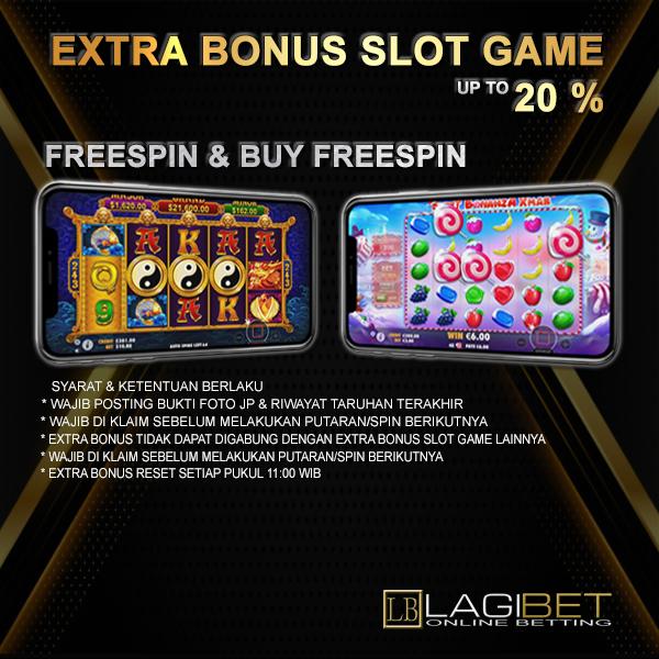 Extra Bonus Slot Game 20%