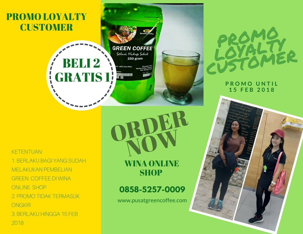 Jual Green Coffee Kopi Hijau Diet 0858 5257 0009 Promo Gratis