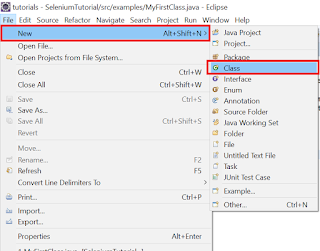 Sterling Tutorials: Create and Run A Java Program in Eclipse