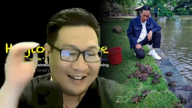 Jozeph Paul Zhang Tantang Jokowi Sebut Namanya: Nanti Cebong-cebong Jadi Kodok Semua
