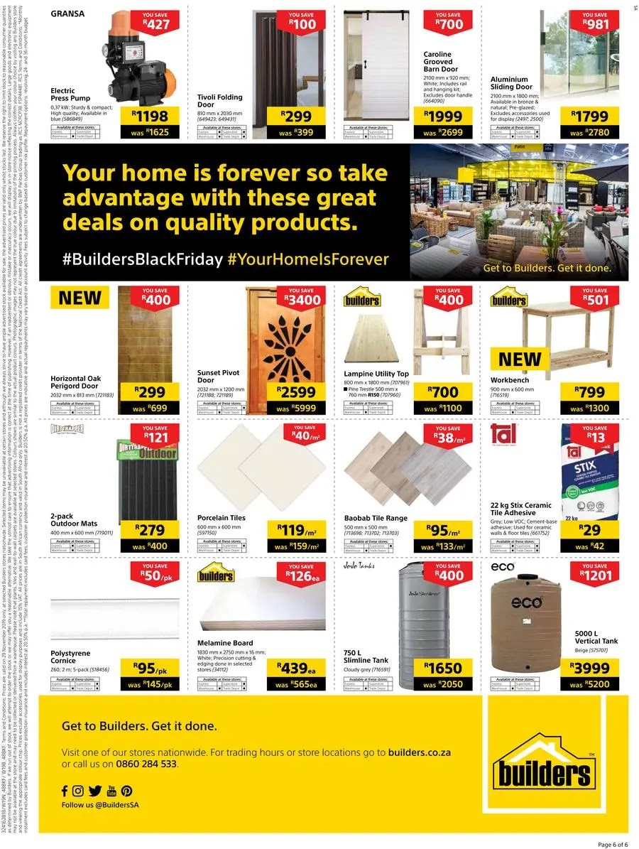 Builders Warehouse Black Friday Deals Page 6