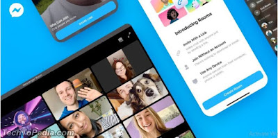 Facebook Launched Group Video Calls With Up To 50 Members Service in Messenger Rooms
