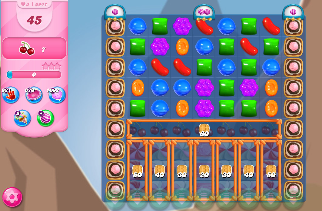 Candy Crush Saga level 8947