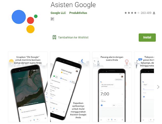 cara mengaktifkan asisten google