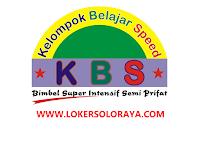 Loker Sragen Tentor di Lembaga Bimbingan Belajar KBS Gemolong