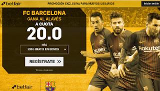 betfair supercuota Barcelona gana al Alaves 28 enero