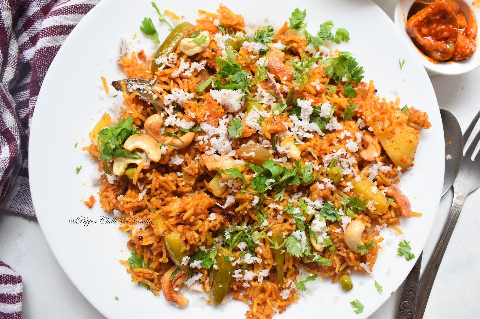 authentic masale bhaat recipe