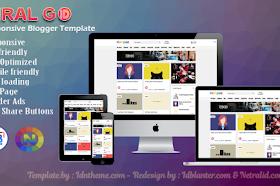 Viral Go Redesign Responsive Blogger Template
