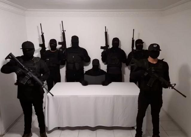 Video: El CJNG culpa a sus enemigos  La Nueva Plaza', 'el Cártel del 2', o 'Los Cholos' los que le pelan en su estado de matar a los 11 albañiles