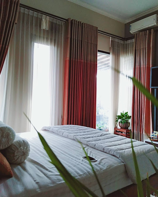 Desain Kamar Tidur Ukuran 3x3 Jendela Besar