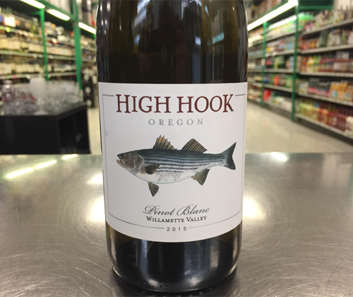 High Hook WIllamette Valley Pinot Blanc 2015