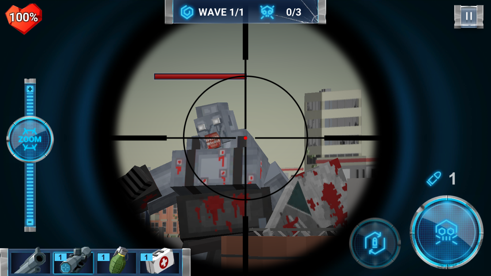 The walking zombie Dead city MOD APK
