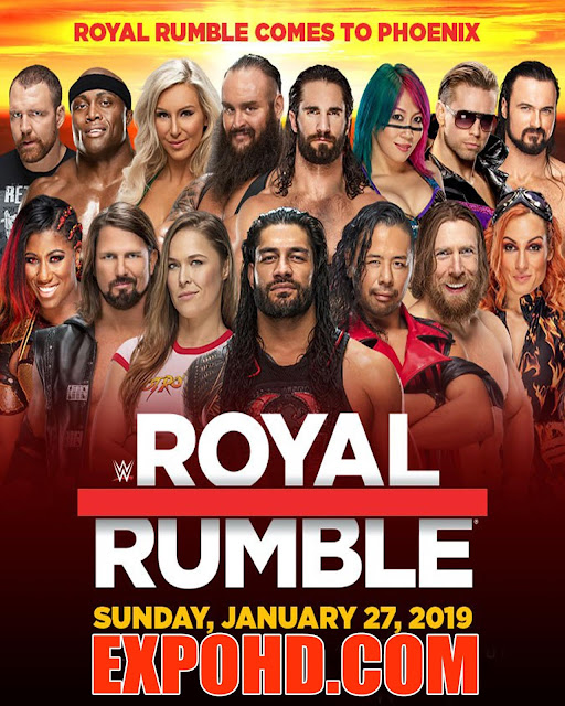 WWE Royal Rumble 2019 Watch Full Show WEB-DL x265 | 720p | 1080p | Download & Online