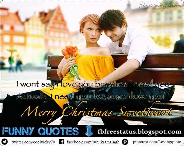 Christmas Messages for Lover, Christmas Love Messages for Him