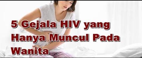 Gejala HIV Wanita