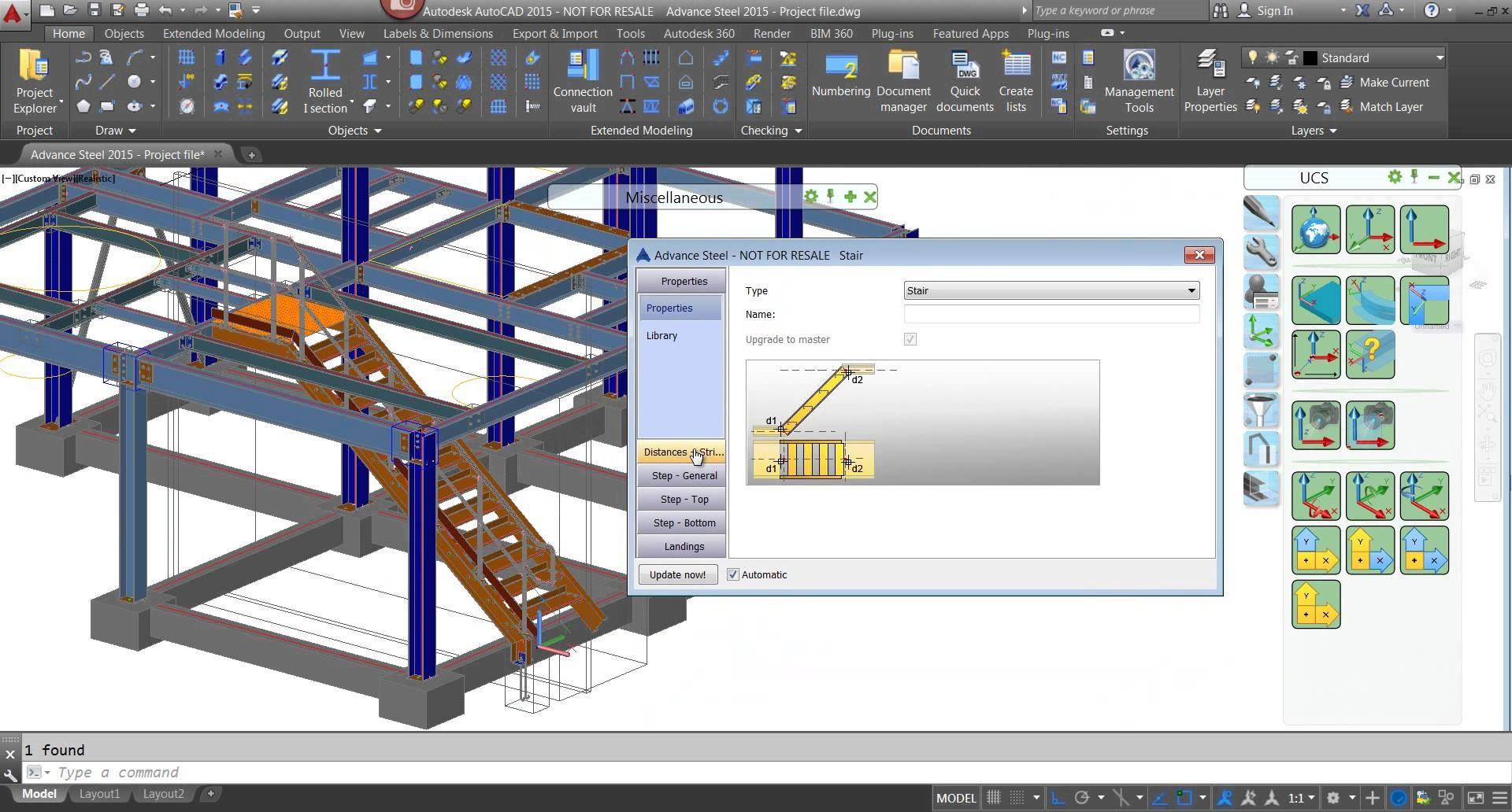 Modificación de escaleras metálicas