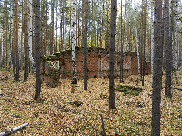 Развалины динамитного завода
