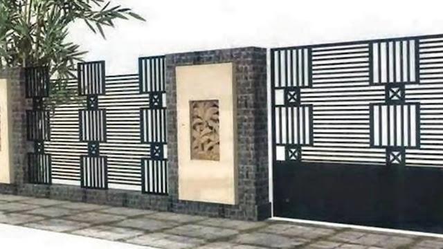 Inspirasi Ide Desain Pagar Rumah Modern Minimalis Pagar Rumah
