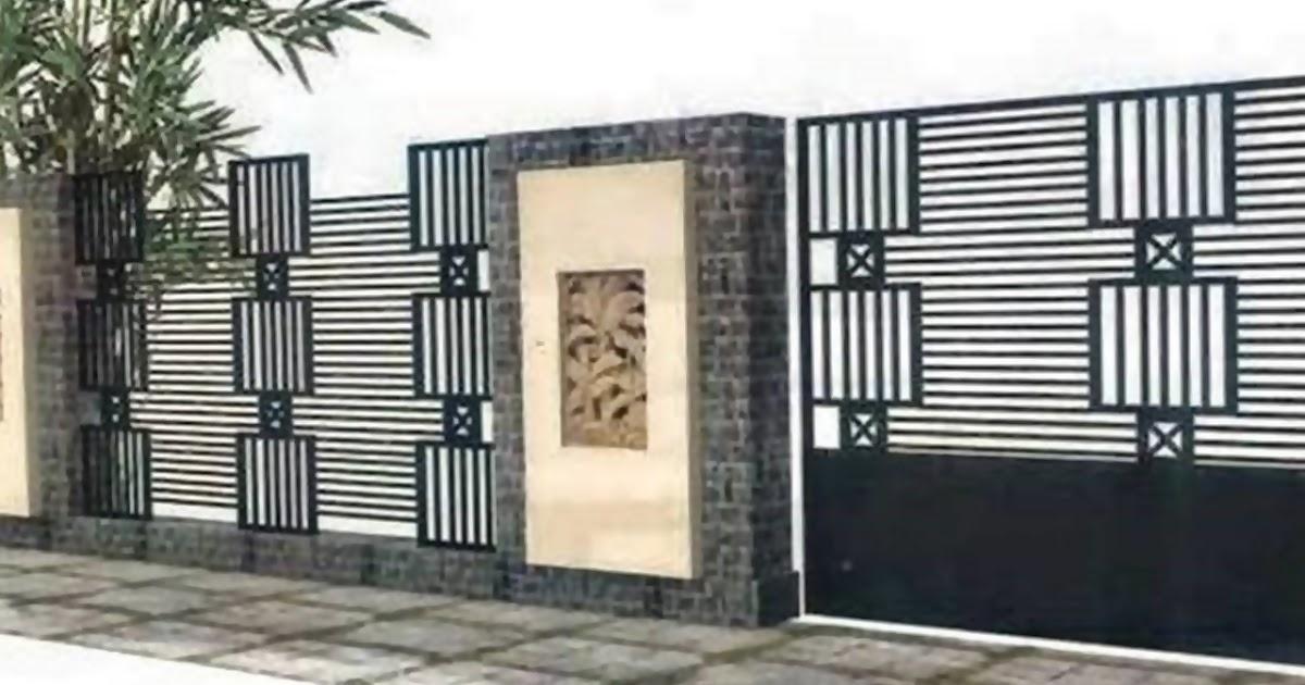 Inspirasi Ide Desain Pagar Rumah Modern Minimalis Pagar Rumah Tipe 36 45 60