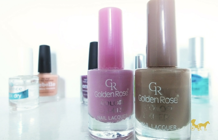 Golden Rose color expert nail laquers