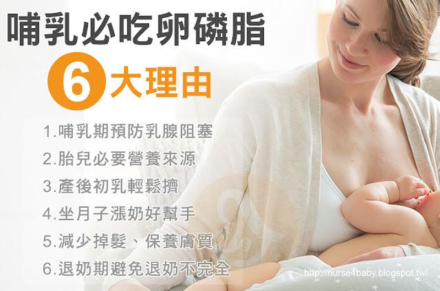 哺乳必買活力媽媽卵磷脂的6大理由!