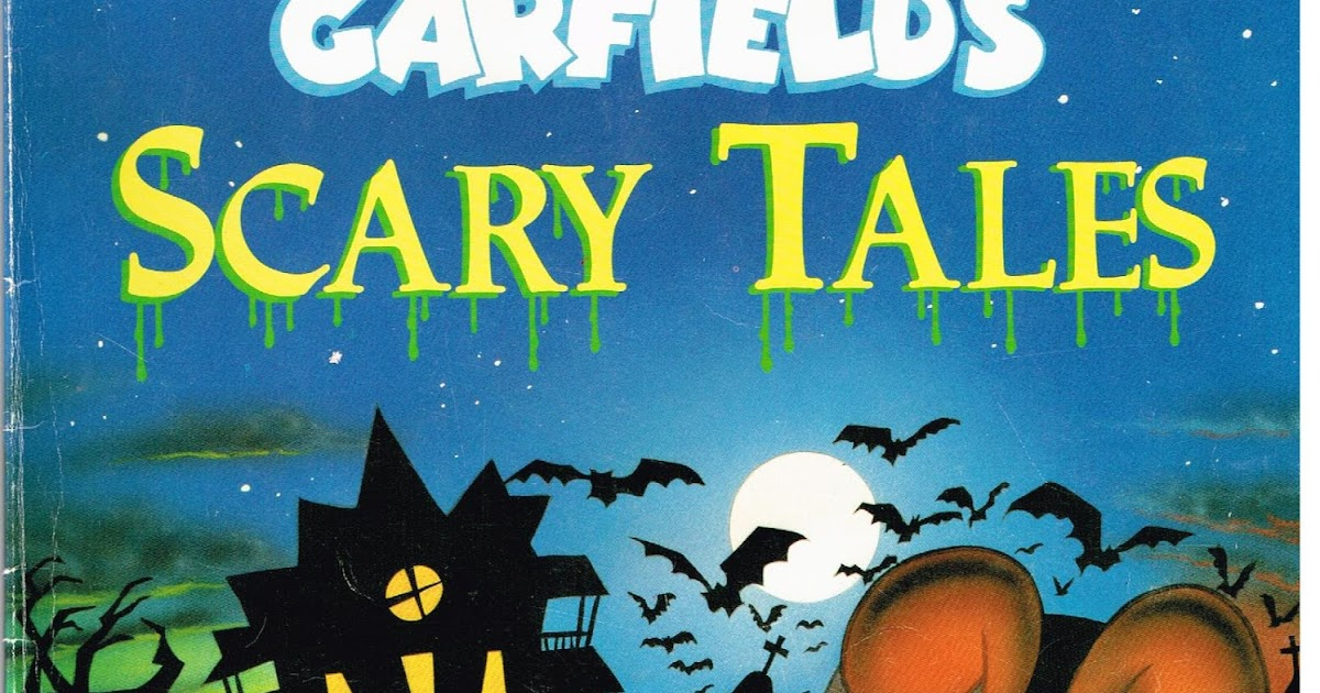 20 Years Before 2000 Retro Reading Corner Garfield S Scary Tales