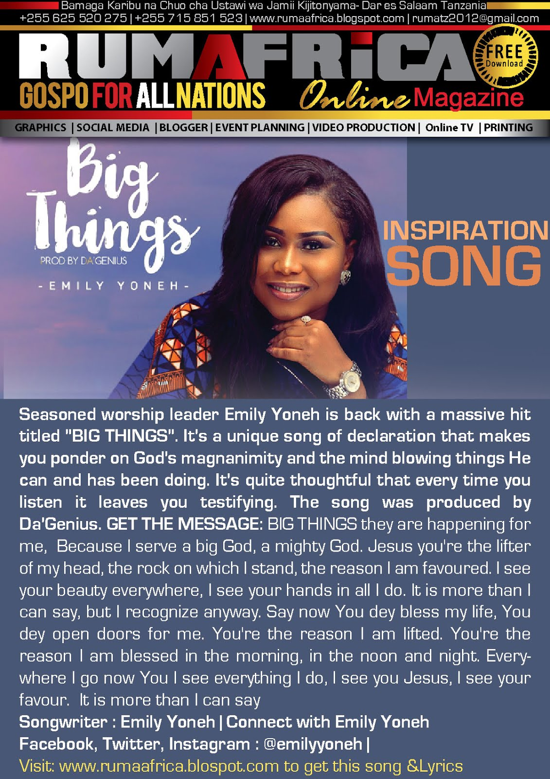 BIG THINGI | EMILY YONEH