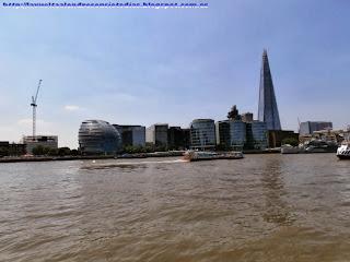 Torre Shard y Ayuntamiento de Londres.