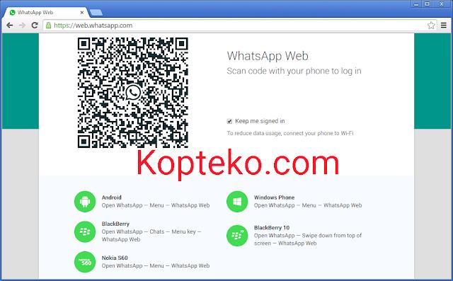 Cara Masuk WhatsApp Web Tanpa Kode Verifikasi