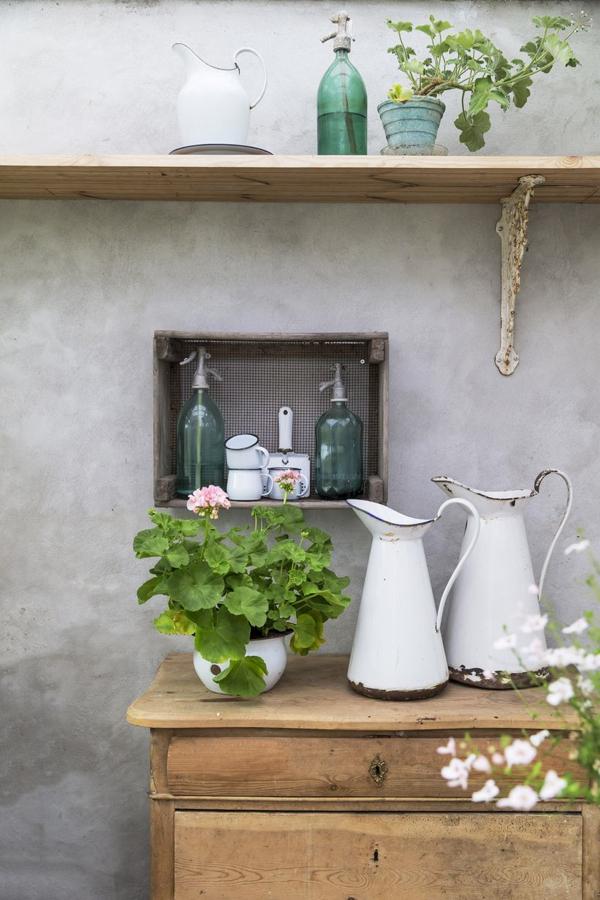 A Gardener's Escape- designaddictmom- Photography: Christina Kayser Onsgaard  #plants #flowers #gardening