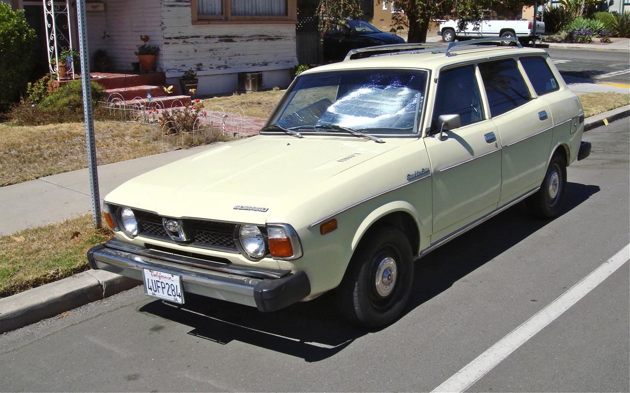 The Street Peep 1977 Subaru Dl 1600 Station Wagon